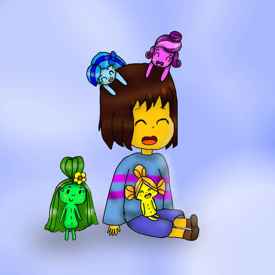 Frisk and The Carioca Sisters by YuliaRabbid