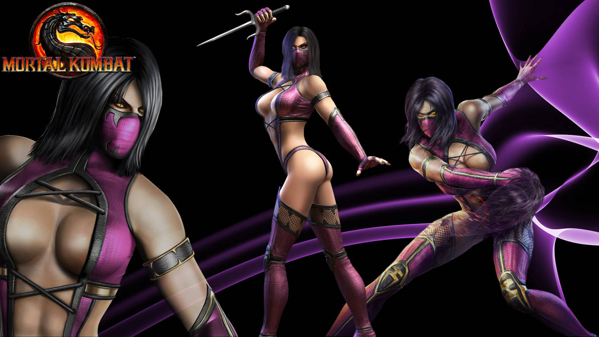 Mortal Kombat Custom Wallpaper Mileena By Blueorichalon On Deviantart