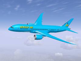 Arnold Air 787 by dev-catscratch