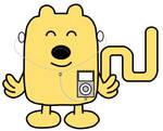 Wubbzy using an iPod