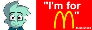 Pajama Sam: I'm for McDonald's