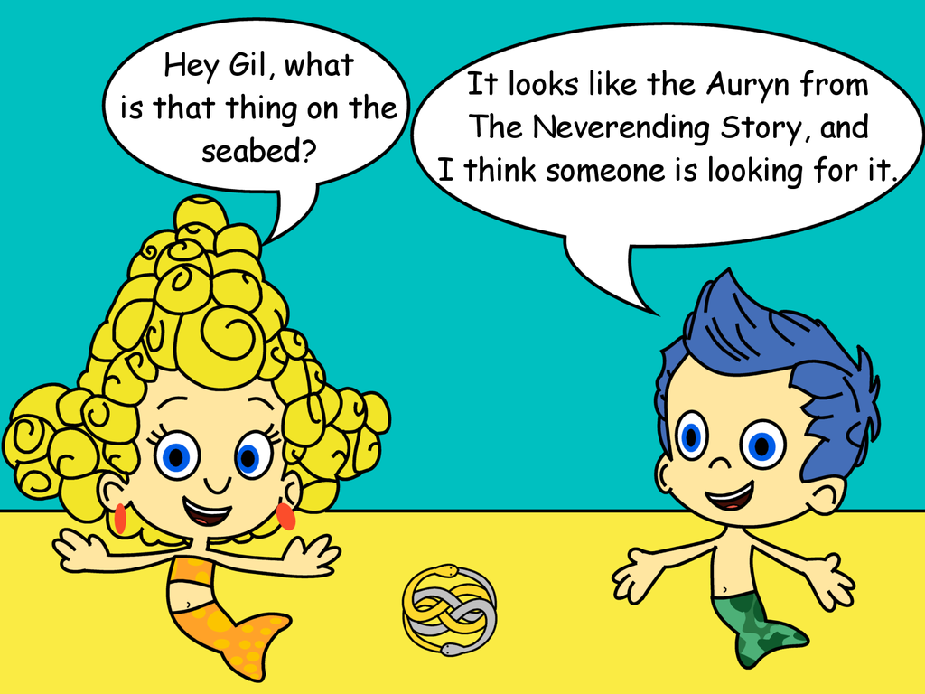 bubble guppies gil finds an auryn by dev catscratch on deviantart
