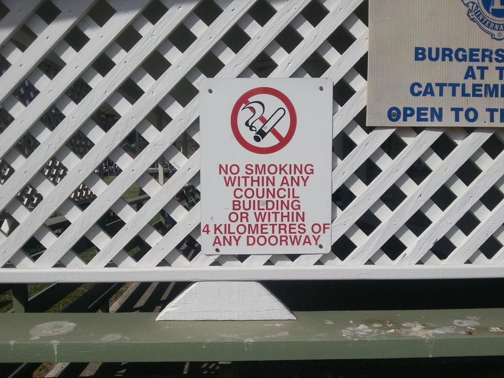 A smoking ban too far