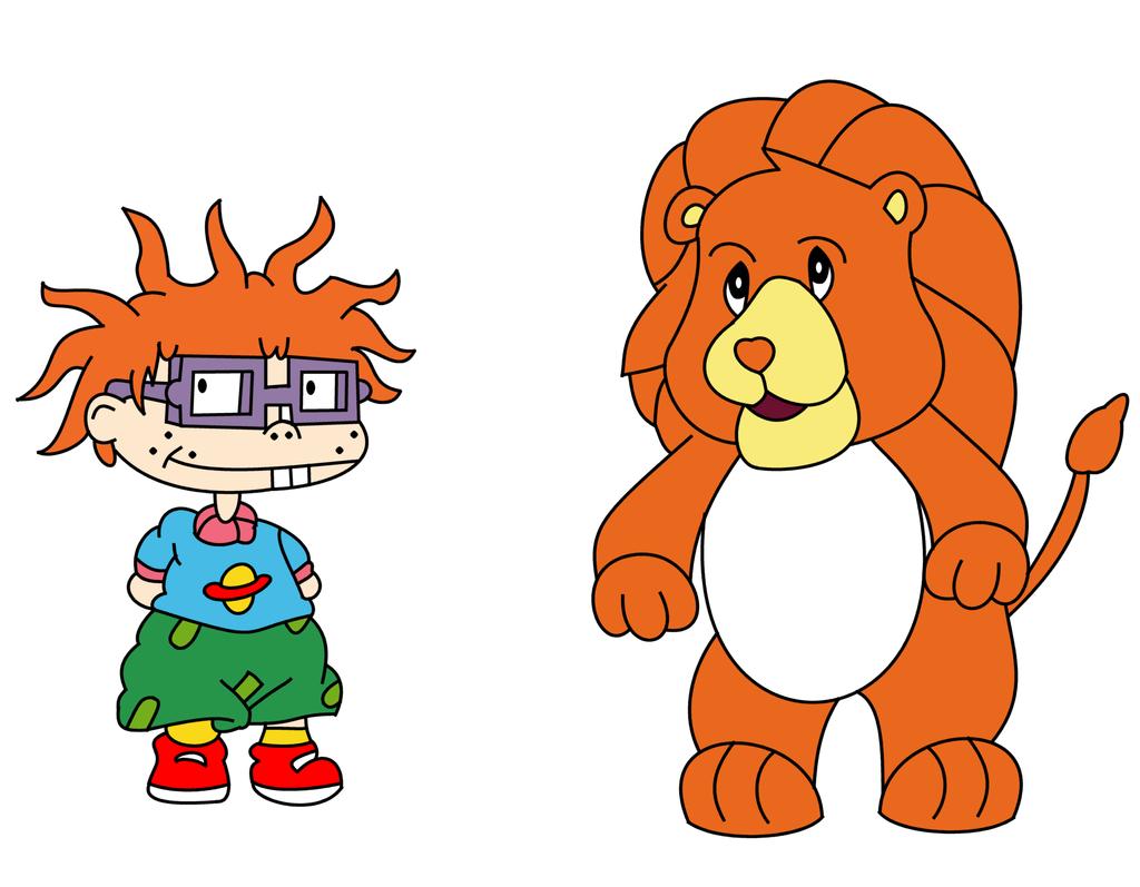 brave heart lion meets chuckie by dev catscratch on deviantart