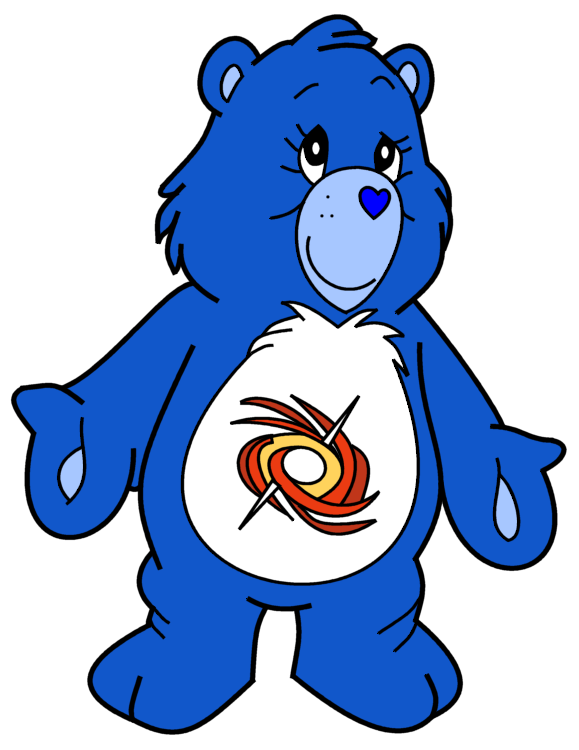 Care Bears OC: Heroine Bear by dev-catscratch on DeviantArt