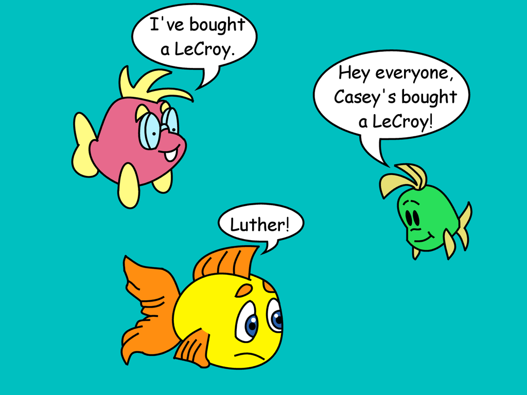 Freddi Fish: Casey bought a LeCroy by dev-catscratch