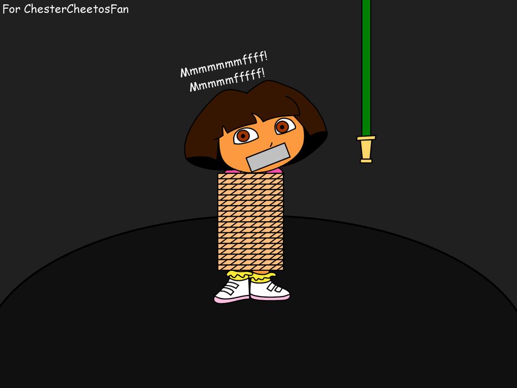 Fnaf Kidnapped Princess Deviantart: Dora Kidnapped For ChesterCheetosFan By Dev-catscratch On