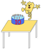 Wubbzy's 10th birthday