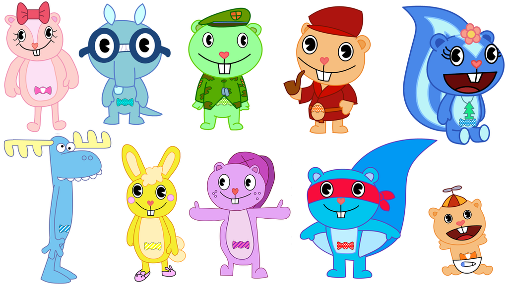 Happy Tree Friends Wiki is a complete guide that anyone can edit featuring characters and episodes from the Happy Tree Friends series