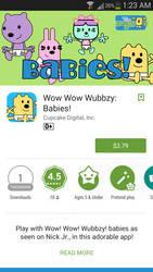 Wow Wow Wubbzy: Babies app