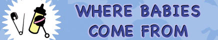 Chloe and Nurb banner: Where Babies Come From by dev-catscratch