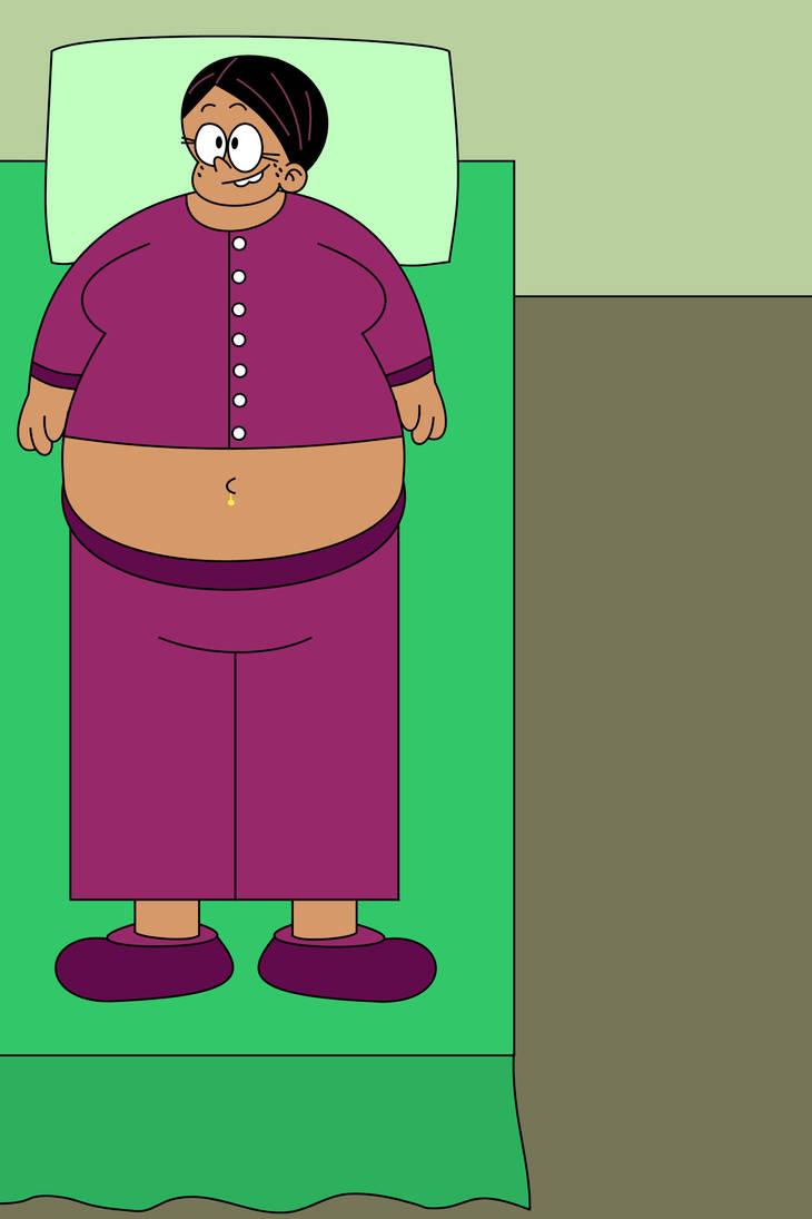 Ronnie Anne Fat In Bed By Dev Catscratch