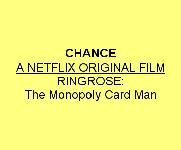 Ringrose: The Monopoly Card Man ad