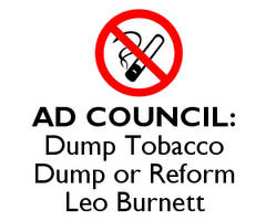 Ad Council: Dump Tobacco