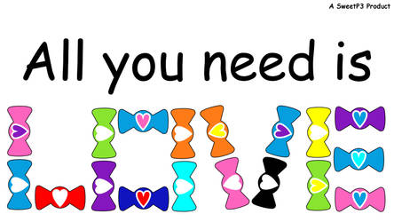 Bumpbows ad: All You Need Is Love