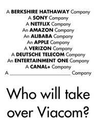 Who will take over Viacom?