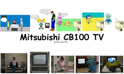 Mitsubishi CB100 TV