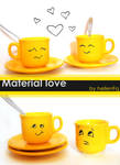Material 'LOVE' by hellenFq