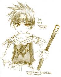 Gensomaden Saiyuki: Son Goku by xenopyro