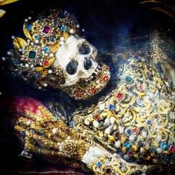 Jewelled skeleton by modgud-merry