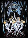 The dance of Walpurgisnacht by modgud-merry