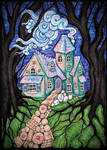 The gingerbread house by modgud-merry