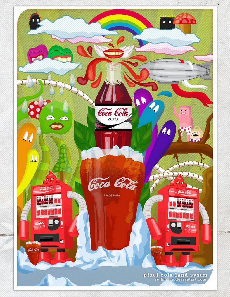 pixel cola land by rethname