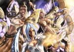 Guild Wars: Ele, Ranger, Derv