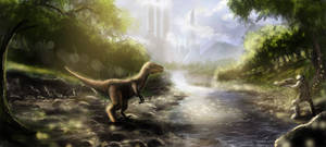 ancient encounter by alecyl