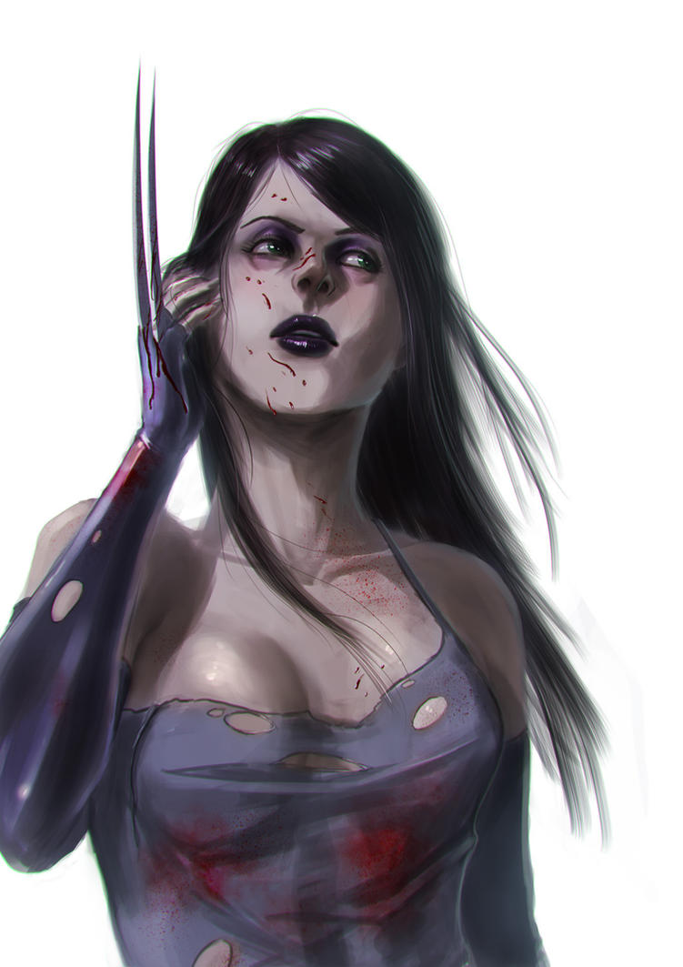 X-23 Speedpaint by alecyl