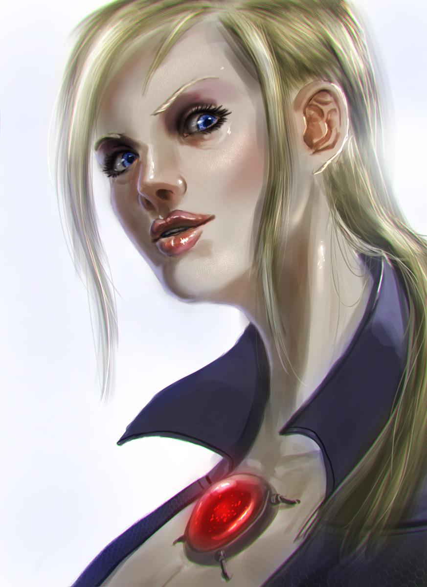 Battlesuit Jill by alecyl