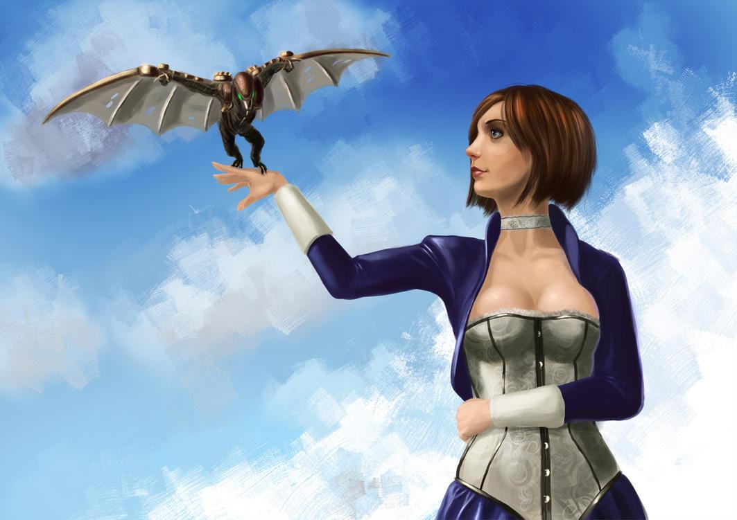 Elizabeth Songbird by alecyl