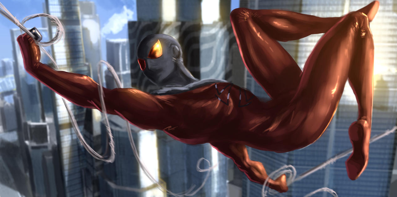 0b22179d Scarlet blood drops on the stone - Kaine the Scarlet Spider (and  Hummingbird) appreciation