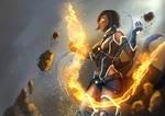 Scifi Korra by alecyl