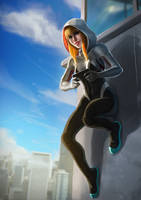 Spidergwen by alecyl