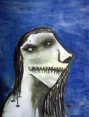 Untitled (Sad Girl) by Steefa