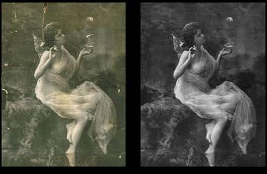 Restoration: vintage portrait by Steefa
