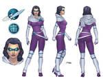 Model Sheet - Planet Girl 2.0