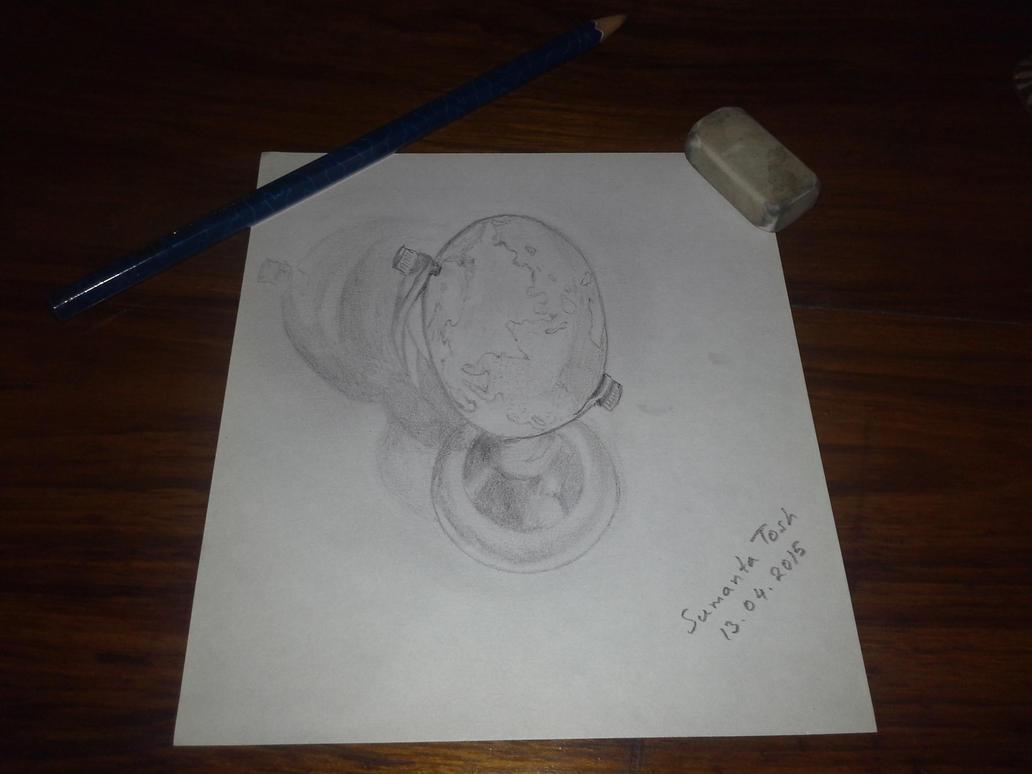 3D Globe by SamBlueknight