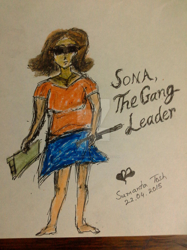 Sona - The Gang Leader (OC) by SamBlueknight
