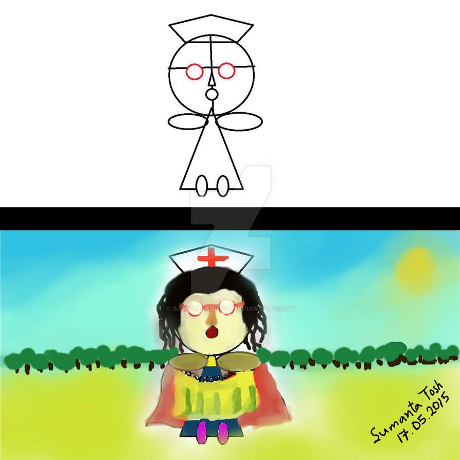 Highness is a nurse by SamBlueknight