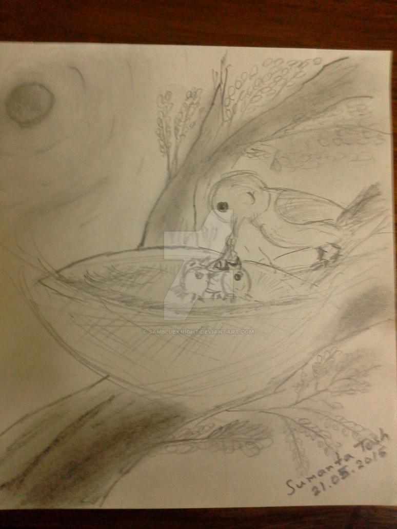 Birdy Family by SamBlueknight