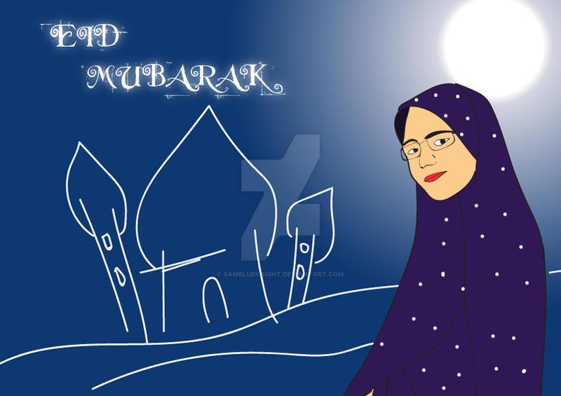 Eid mubarak by SamBlueknight