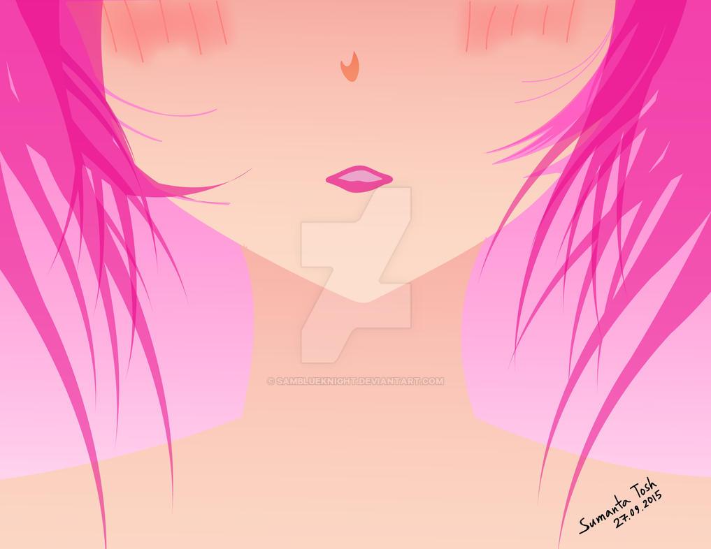 Anime Girl by SamBlueknight