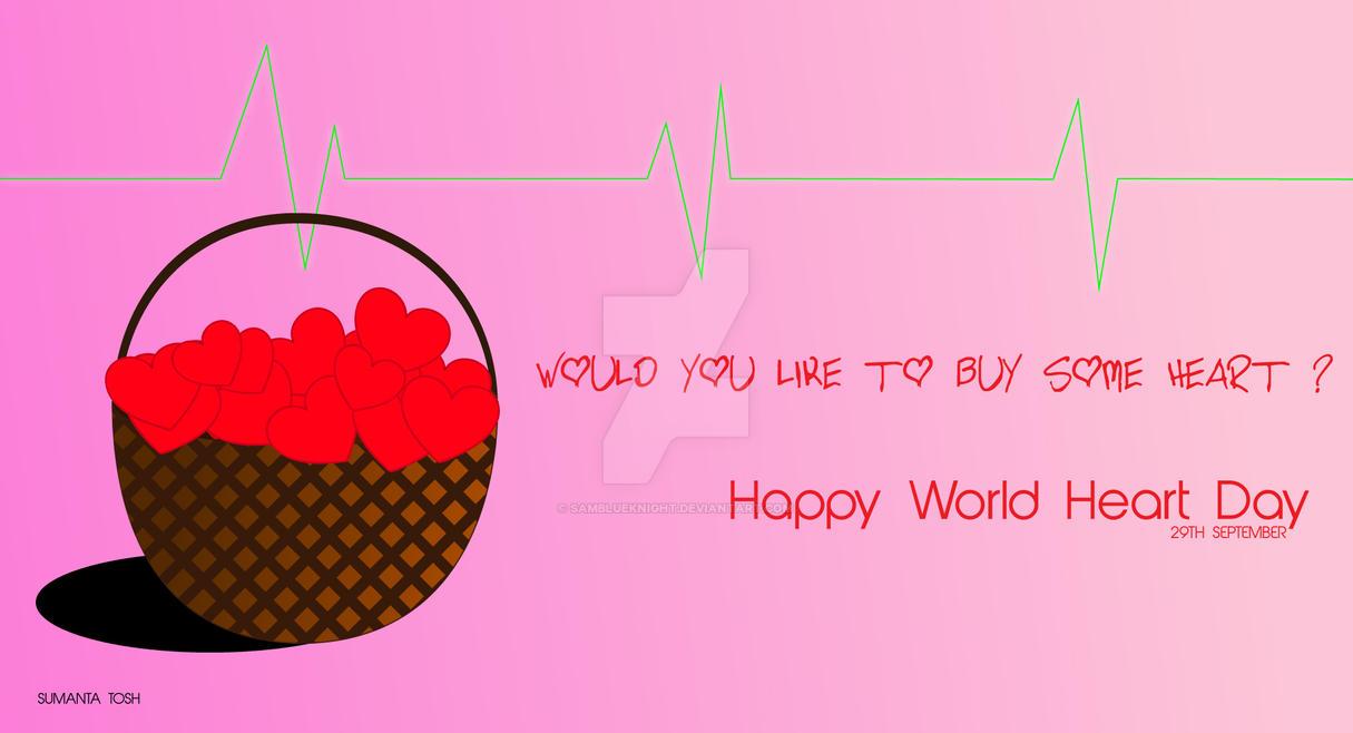 World Heart Day by SamBlueknight