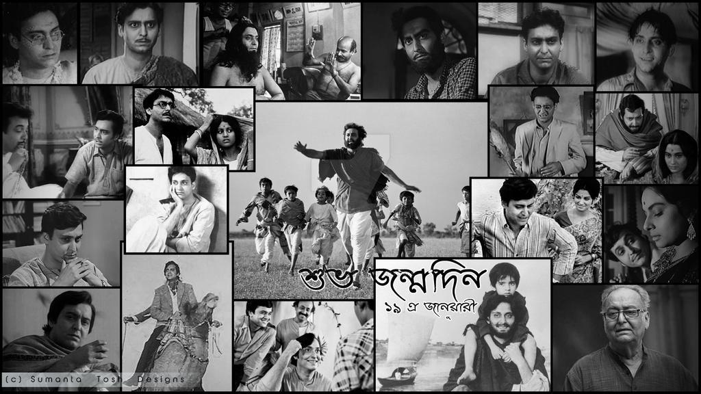Soumitra Chatterjee Birthday by SamBlueknight