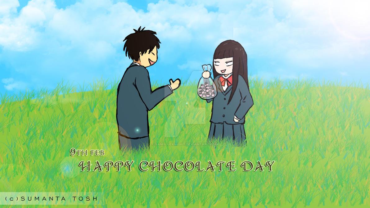 Chocolate Day by SamBlueknight