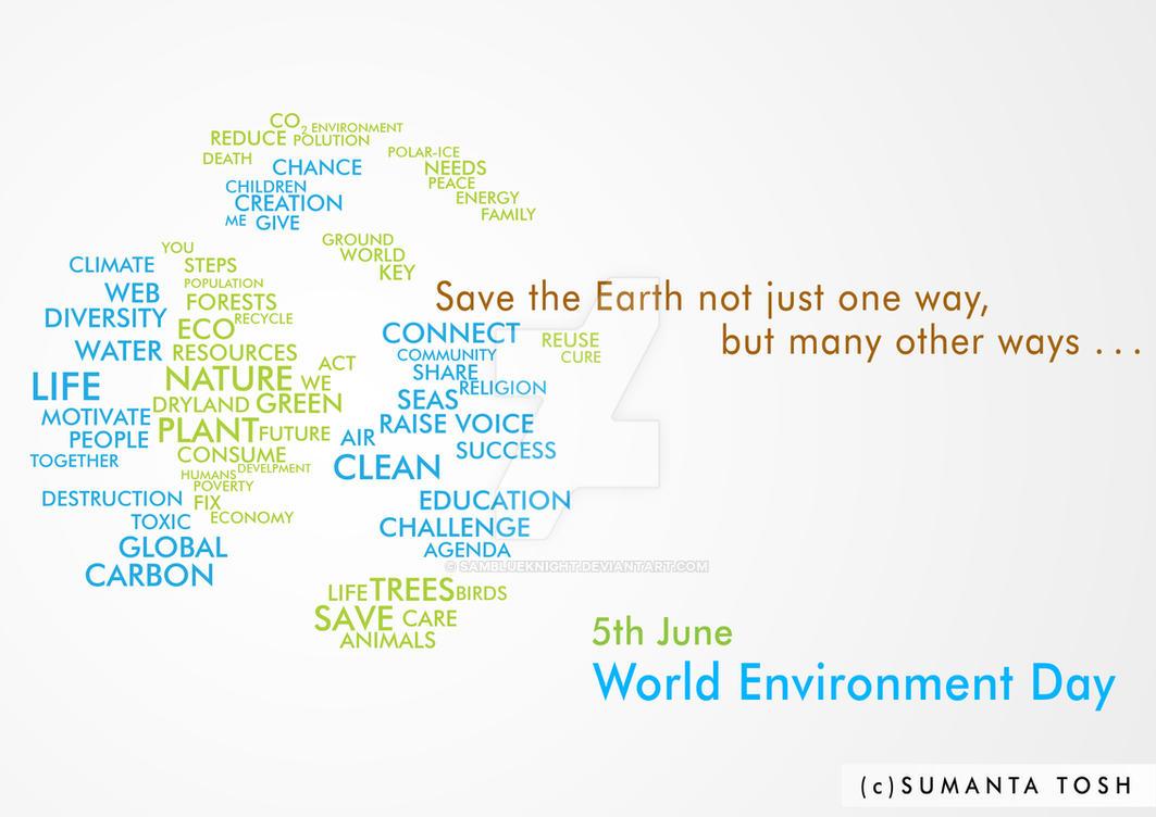 The Key - World Environment Day by SamBlueknight