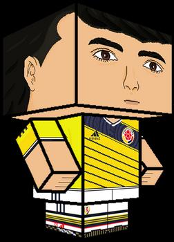 James Rodriguez 3D