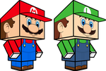 Mario and Luigi 3D